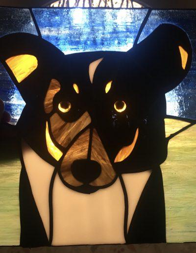 Dog Art Panel