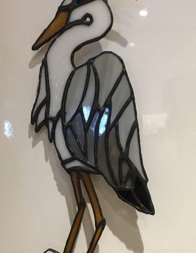Heron Bird Sun Catcher