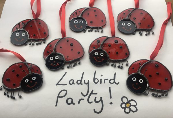 Ladybird Sun Catcher