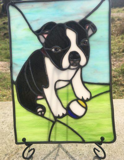 Puppy Dog Portrait Panel