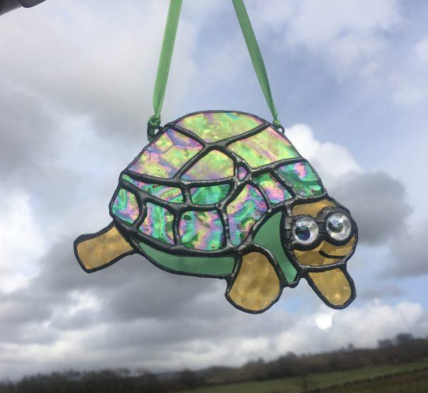 Tortoise sun catcher