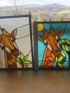 Giraffe Panels