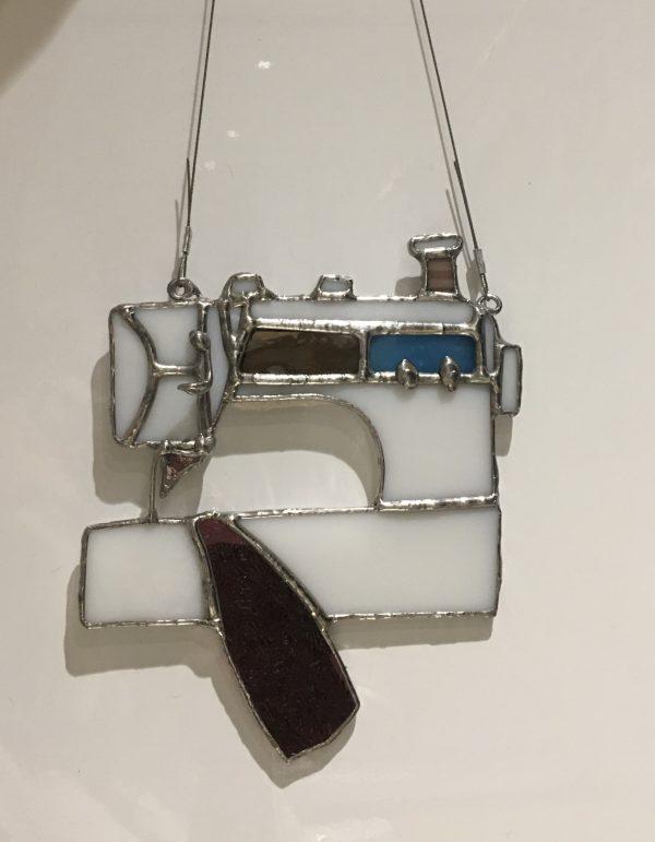 Sewing Machine Sun Catcher