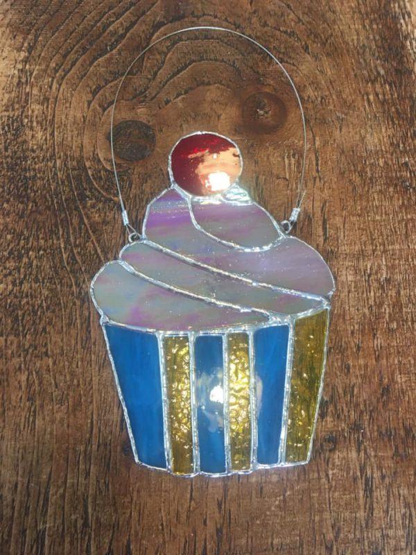 Cup Cake Sun Catcher