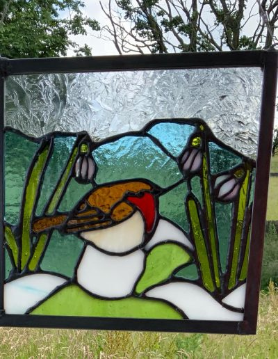 Robin Art Panel