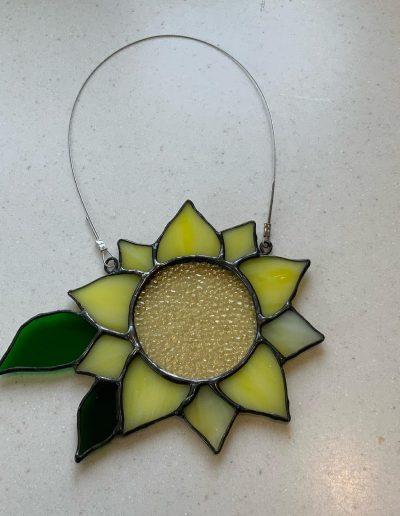 Small Sunflower sun catcher