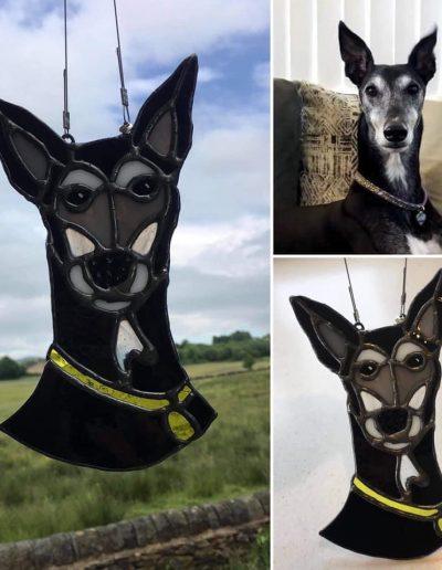 Greyhound Sun Catcher