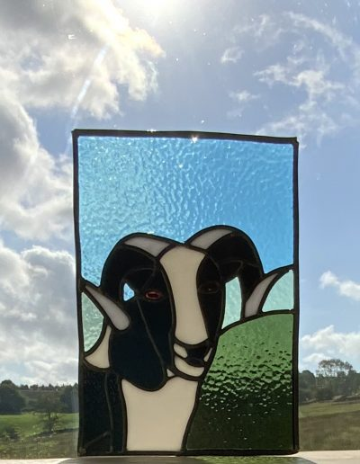 Stained Glass Ram